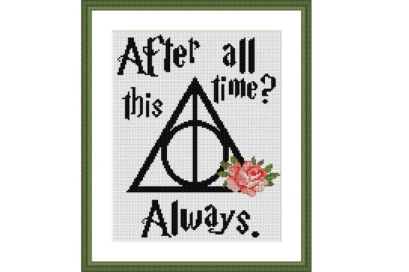Download Free Always Floral Cross Stitch Pattern Graphic By E6702 Creative for Cricut Explore, Silhouette and other cutting machines.