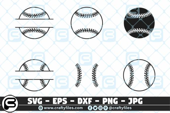Base Ball Ball Bundle Graphic Crafts By Crafty Files