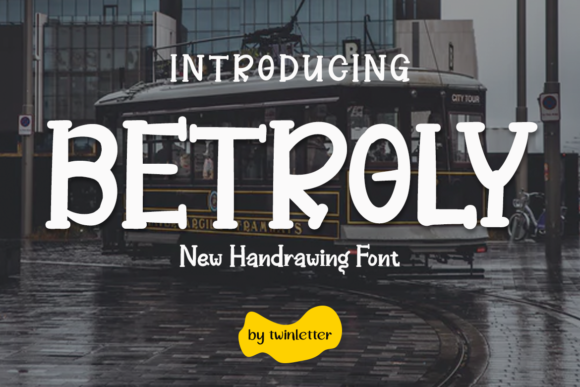 Print on Demand: Betroly Display Fuente Por twinletter