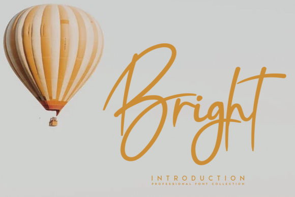 Print on Demand: Bright Script & Handwritten Font By CREATIVEWHITE
