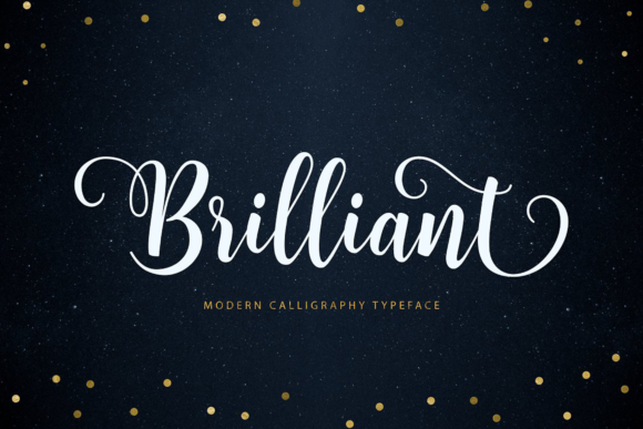 Print on Demand: Brilliant Script & Handwritten Font By Unicode Studio