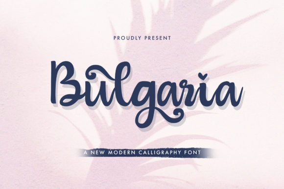 Print on Demand: Bulgaria Script & Handwritten Font By StringLabs