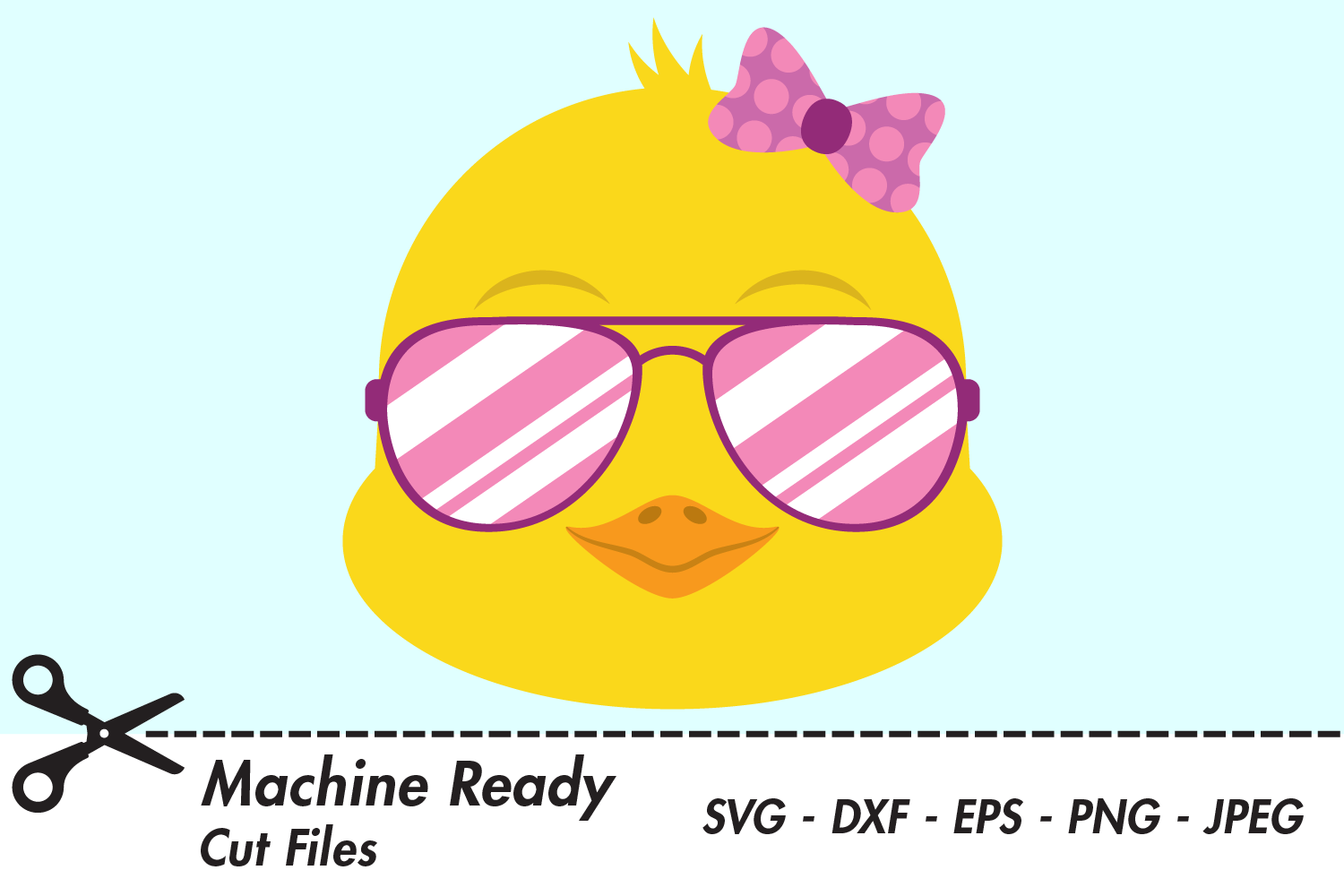 Download Free Cool Girl Chick Face With Shades Graphic By Captaincreative for Cricut Explore, Silhouette and other cutting machines.