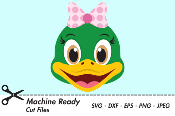Download Free Cute Girl Duck Face Graphic By Captaincreative Creative Fabrica for Cricut Explore, Silhouette and other cutting machines.
