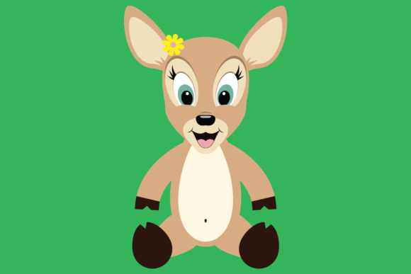 Cute Woodland Deer Bundle Graphic Preview