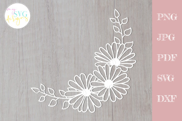 Download Free 11 Flower Cut File Designs Graphics for Cricut Explore, Silhouette and other cutting machines.