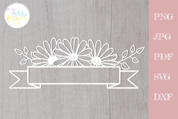 Daisy Mailbox Decal   Graphic Crafts By MySVGDesigns