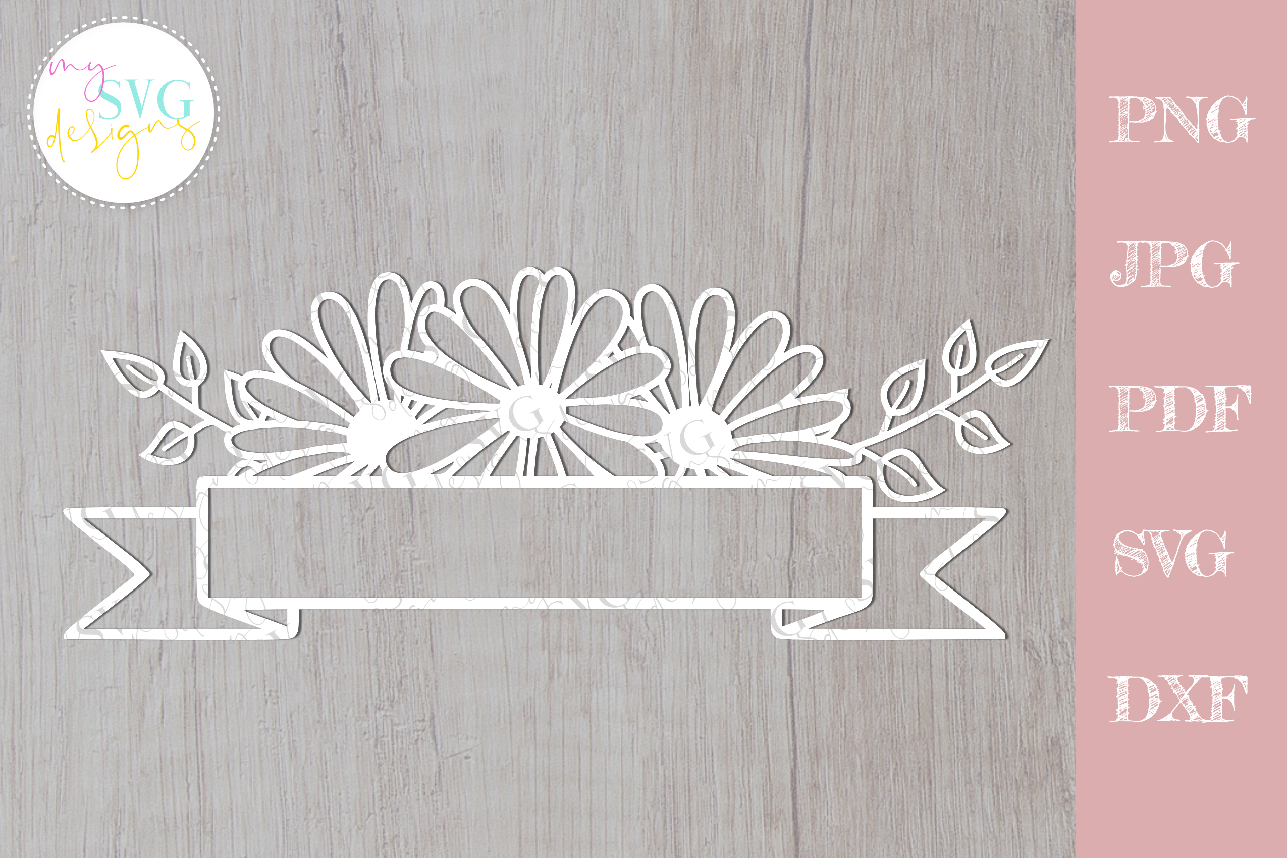 Download Free Daisy Mailbox Decal Graphic By Mysvgdesigns Creative Fabrica for Cricut Explore, Silhouette and other cutting machines.