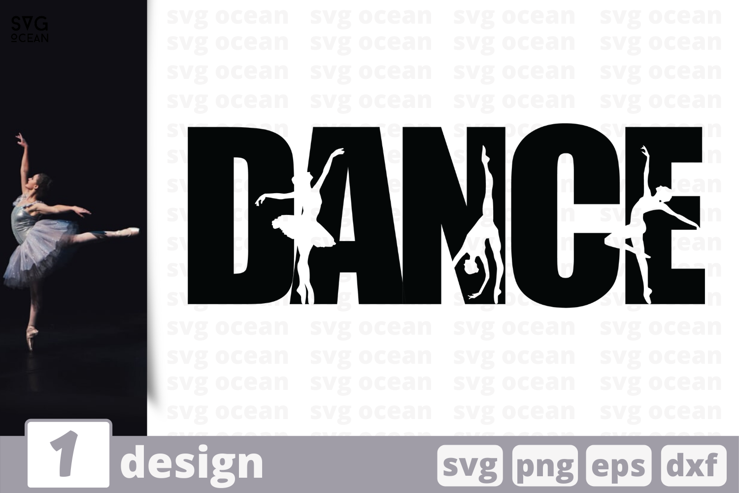 Download Free Dance Graphic By Svgocean Creative Fabrica for Cricut Explore, Silhouette and other cutting machines.