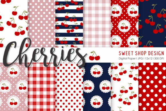 Download Free Digital Paper Happy 4th Of July Graphic By Sweet Shop Design for Cricut Explore, Silhouette and other cutting machines.