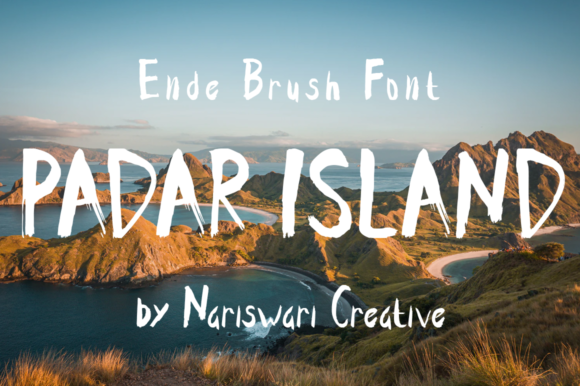 Download Free Ende Font By Nariswari Creative Creative Fabrica for Cricut Explore, Silhouette and other cutting machines.