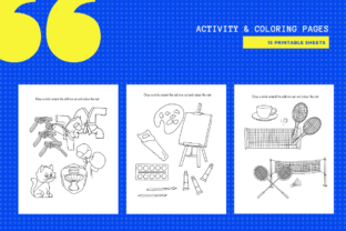 Print on Demand: Find the Odd One out 15 Worksheets Graphic Teaching Materials By MarinovaDesigns