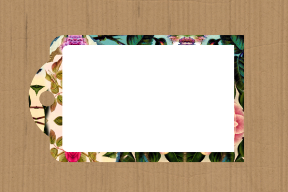 Print on Demand: Funky Tag Template Banner Label Frames Graphic Backgrounds By Prawny - Image 9