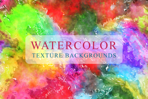 Print on Demand: Funky Watercolour Grunge Messy Papers Grafik Texturen von Prawny