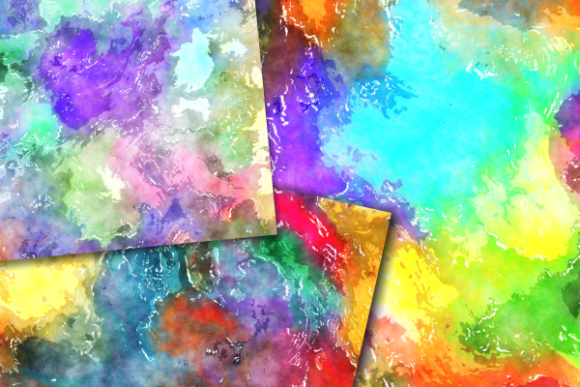 Download Free Funky Watercolour Grunge Messy Papers Graphic By Prawny for Cricut Explore, Silhouette and other cutting machines.
