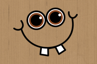 Print on Demand: Funny Faces Cute Cartoon Expressions Graphic Crafts By Prawny 4