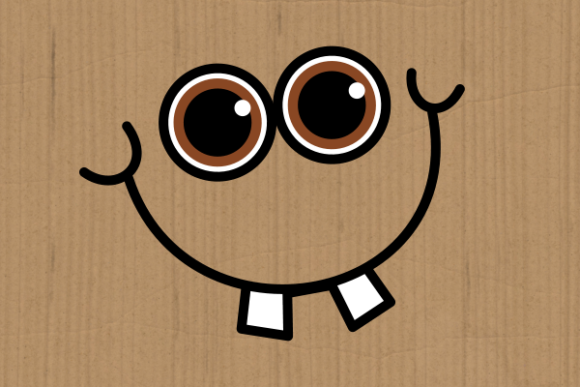 Funny Faces Cute Cartoon Expressions Graphic Design