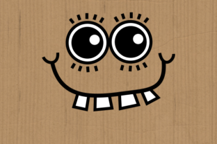 Print on Demand: Funny Faces Cute Cartoon Expressions Graphic Crafts By Prawny 5