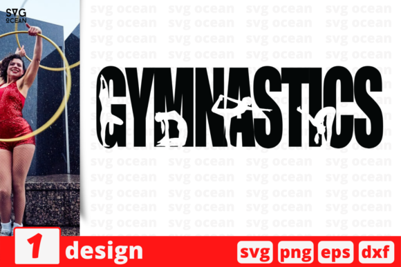 Download Free Gymnastics Graphic By Svgocean Creative Fabrica for Cricut Explore, Silhouette and other cutting machines.