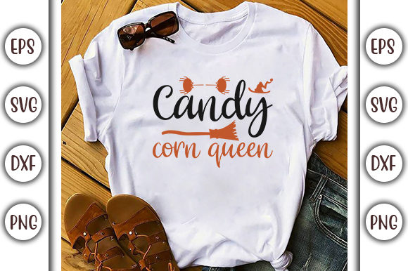 Download Free Halloween Quotes Design Candy Corn Graphic By Graphicsbooth for Cricut Explore, Silhouette and other cutting machines.