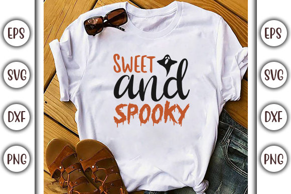 Download Free Halloween Quotes Design Sweet And Graphic By Graphicsbooth SVG Cut Files