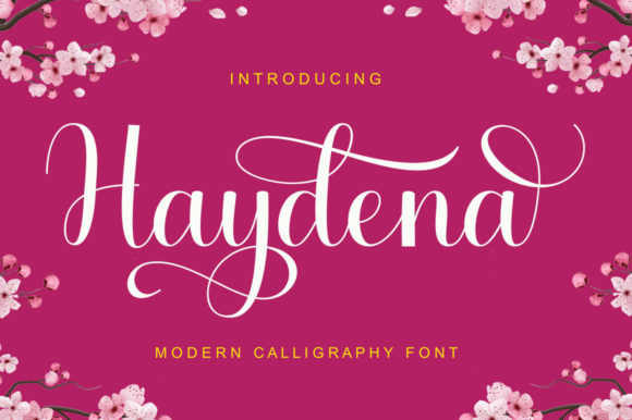 Print on Demand: Haydena Script & Handwritten Font By gatype