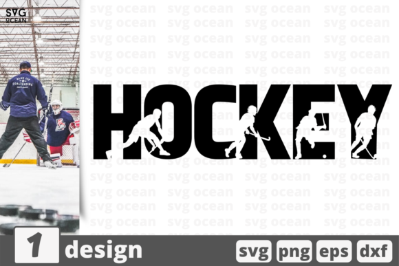 Hockey Graphic Crafts By SvgOcean
