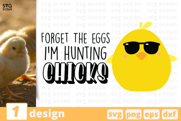 Download Free I M Hunting Chicks Graphic By Svgocean Creative Fabrica for Cricut Explore, Silhouette and other cutting machines.