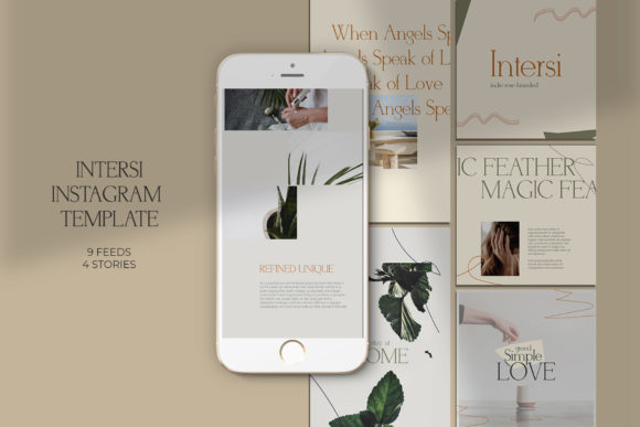 Download Free Dealova Instagram Templates Graphic By Qohhaarqhaz Creative for Cricut Explore, Silhouette and other cutting machines.