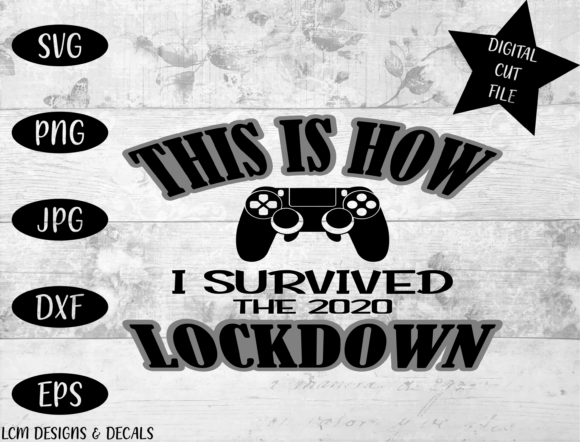 Lockdown / Gaming / Survival Gráfico Ilustraciones Por LCM Designs