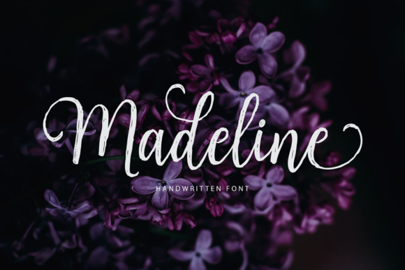 Print on Demand: Madeline Script & Handwritten Font By Unicode Studio
