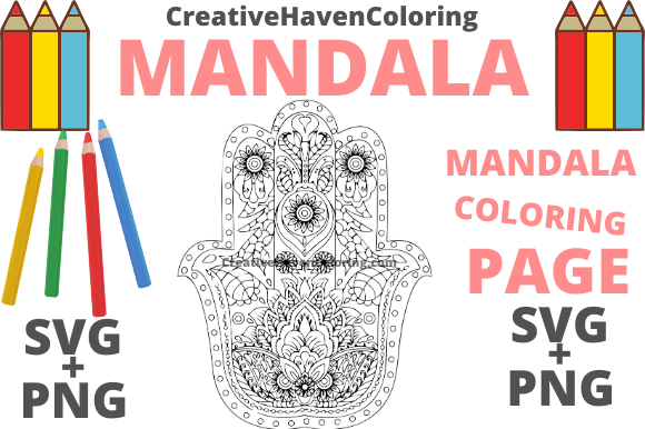 Print on Demand: Mandala Coloring Page #10 Graphic Coloring Pages & Books Adults By creativehavencoloring