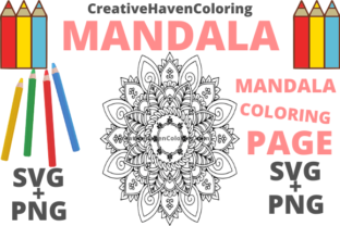 Print on Demand: Mandala Coloring Page #13 Graphic Coloring Pages & Books Adults