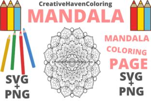 Print on Demand: Mandala Coloring Page #14 Graphic Coloring Pages & Books Adults