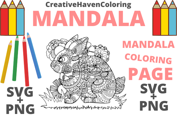 Download Free Mandala Coloring Page 18 Graphic By Creativehavencoloring for Cricut Explore, Silhouette and other cutting machines.