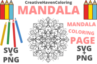 Print on Demand: Mandala Coloring Page #7 Graphic Coloring Pages & Books Adults