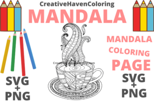 Print on Demand: Mandala Coloring Page #9 Graphic Coloring Pages & Books Adults