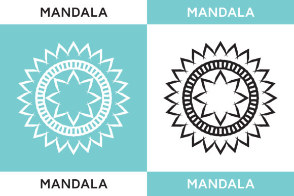 Mandala Geometric Graphic Logos By HighVoice