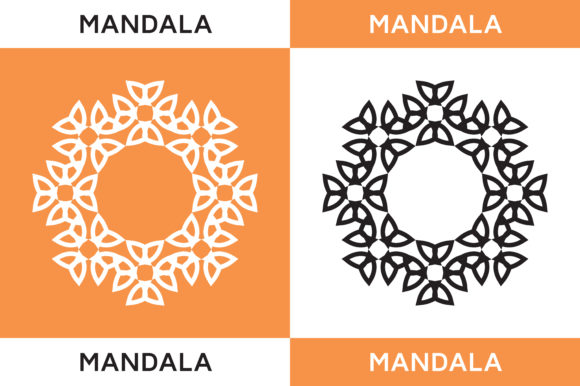 Mandala Icon Graphic Icons By HighVoice
