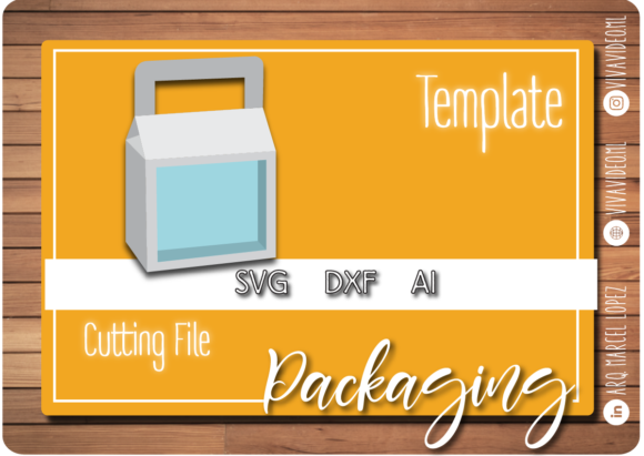 Print on Demand: Mini Box Shaker Graphic Graphic Templates By Marcel de Cisneros
