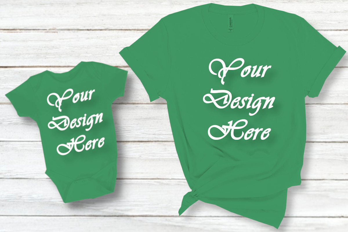 Download Free Mockups Mom And Boy Matching Family Graphic By Mockupsbygaby SVG Cut Files