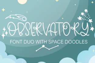 Print on Demand: Observatory Script & Handwritten Font By freelingdesignhouse