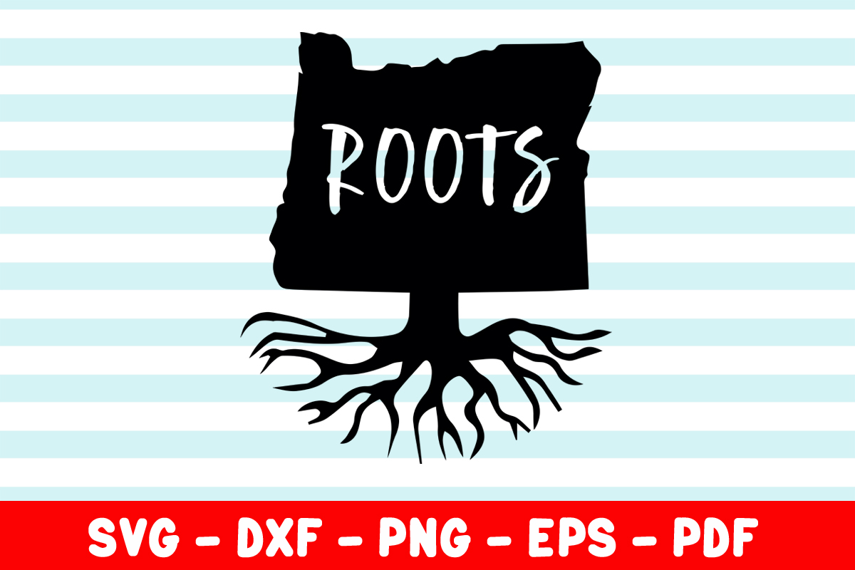 Download Free Oregon Roots Graphic By Creativeshohor Creative Fabrica for Cricut Explore, Silhouette and other cutting machines.