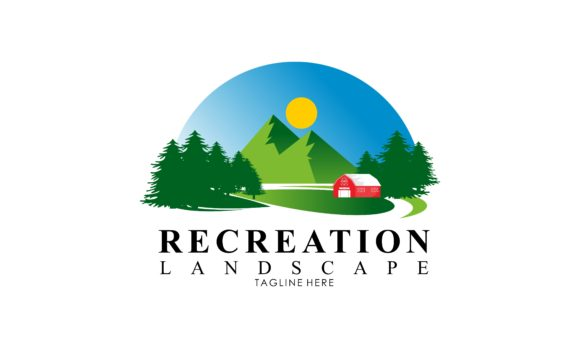 Download Free Parks And Recreation Landscape Graphic By Deemka Studio for Cricut Explore, Silhouette and other cutting machines.