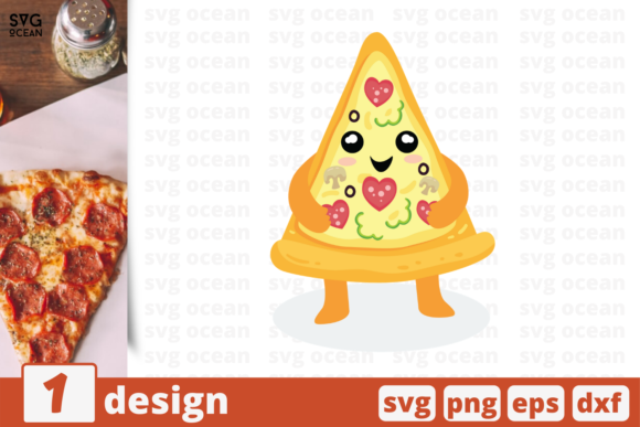 Download Free 294 Pizza Designs Graphics for Cricut Explore, Silhouette and other cutting machines.