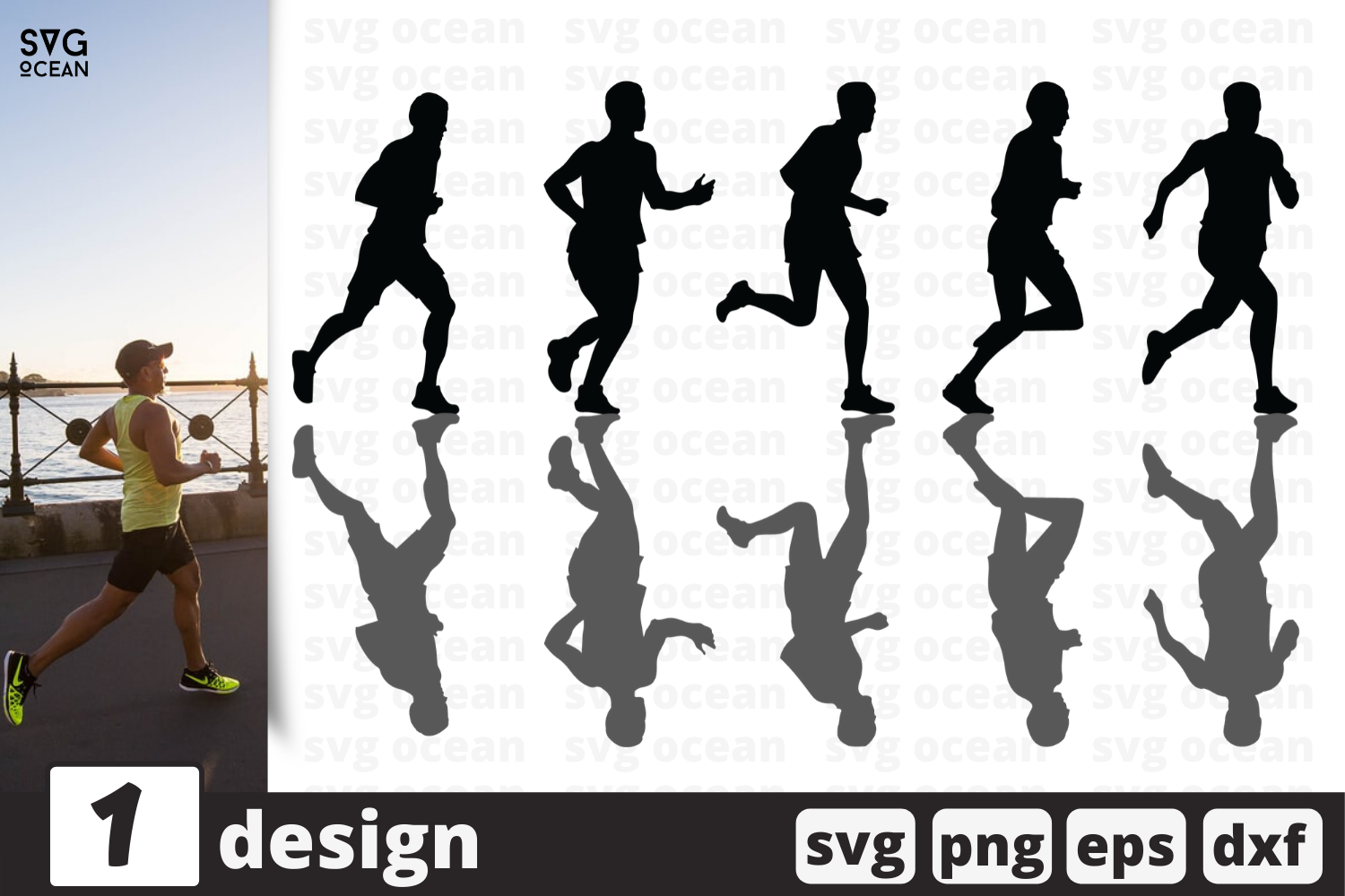 Download Free Run Graphic By Svgocean Creative Fabrica for Cricut Explore, Silhouette and other cutting machines.