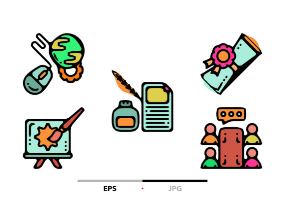STEM Abstract Graphic Icons By sayangnadyapkm3