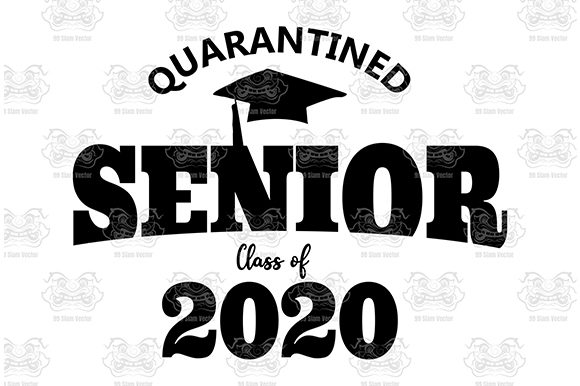 Download Free Senior Class Of 2020 Graduation Graphic By 99 Siam Vector for Cricut Explore, Silhouette and other cutting machines.