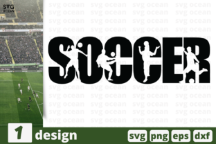 Download Free Soccer Graphic By Svgocean Creative Fabrica for Cricut Explore, Silhouette and other cutting machines.