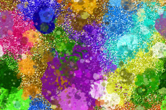 Print on Demand: Splattered Grunge Paint Texture Papers Graphic Textures By Prawny - Image 3